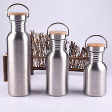 300500750ML Water Bottle Vacuum Insulated Sport Hot Cold Drinks Metal Flask