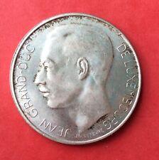 Luxembourg -  Superbe monnaie de 100  Francs 1964  En Argent