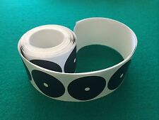 Doctor Cheng 50pc Pool Snooker Billiard Table Dots Adhesive Black Spots 50 spots