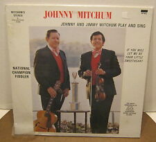 JOHNNY MITCHUM Johnny & Jimmy Mitchum Play & Sing SEALED!! Phonograph Record LP