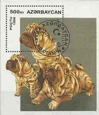 Timbre Chiens Azerbaidjan BF20 o lot 25315