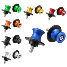 6mm Swingarm Sliders Spools Fit for Yamaha YZF R1 R6 R6S FZ1 FZ6 FZ8 CNC 7 Color