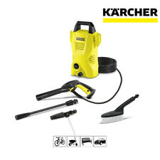 Karcher K2 Basic Pressure Washer With Car Kit 1400W 110 Bar Pressure 3m Hose