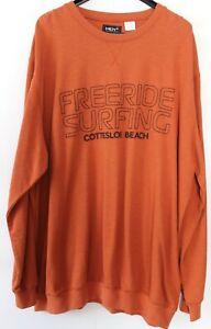 Herren Sweatshirt  Men Plus  Terracotta  Gr. 68/70    5XL  NEU