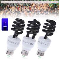 E27 5/15/20W UV Ultraviolet Fluorescent Blacklight CFL Light Bulb Lamp 220V