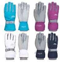 Trespass Vizza II Youth Girls Ski Gloves Warm Waterproof Snowboarding