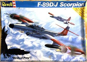 KHS-REVELL- SCALE 1:48 F-89D/J SCORPION MODEL KIT (#4548)-1033