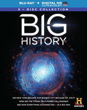 BIG HISTORY (3PC) - BLU RAY - Region A - Sealed
