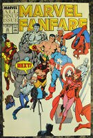 MARVEL FANFARE #45 (August 1989) Marvel Comics - HIGH GRADE