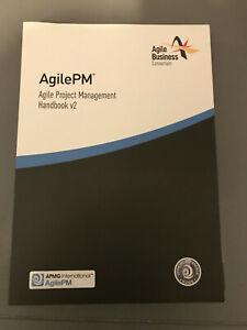 AgilePM Handbooks v2, Agile Business Consortium, Good Condition Book, ISBN 09928