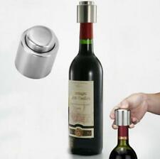 Stainless Steel Red Wine Vacuum Sealed Wine Storage Bottle Stopper Plug Cap Cork