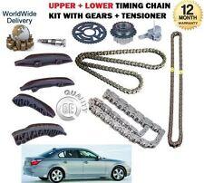 Para Bmw E60 E61 520d 177bhp Touring 2007 -- & gt Superior + Inferior cadena de distribución Kit Set