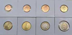 Spagna 1 Cent Fino Set Monete Valuta (Selezionare Tra : 1999 - 2021)