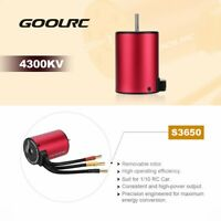 GoolRC S3650 4300KV Brushless Motor +60A ESC +Program Card Combo for RC Car K2P8