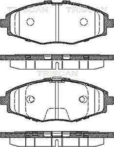 TRISCAN Disc Brake Pad Set For DAEWOO CHEVROLET Lanos Matiz Spark 96273708