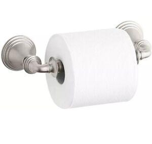 Kohler R10554-BN Devonshire  Wall Mount Toilet Paper Holder - Brushed Nickel
