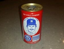 Awesome 1984 World Champions Detroit Tigers Coca Cola empty can Milt Wilcox