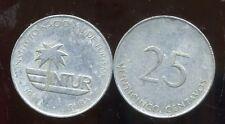 amerique CENTRAL  25 centavos 1988
