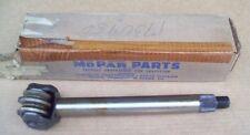 NOS MoPar 1957 57 Chrysler DeSoto STEERING ROLLER TOOTH SHAFT 1730950