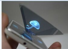 Luxury 3D Holographic Hologram Display Pyramid Projector for Smart Phone Android