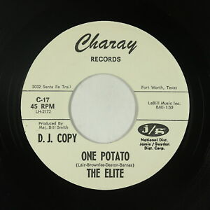Garage Surf 45 - The Elite - One Potato - Charay - VG+ mp3
