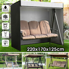 3 Seater Swing Cover Hammock Seat Waterproof Furniture Protector Patio Garden Us