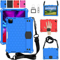 Kids Case For Huawei Mediapad T5 10 Shoulder Strap Shockproof EVA Foam Cover