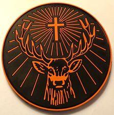 Jagermeister Coaster - Solid Rubber - Deer Head Logo...Cool...NEW