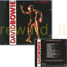 "DAVID BOWIE ""THE 1972 AMERICAN TOUR"" RARE CD 1990 ITALY"