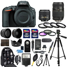 Nikon D5500 Digital Camera + 18-55mm VR + 70-300mm + 30 Piece Accessory Bundle