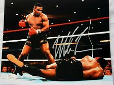 Mike Tyson Authentic Signed 8x10 Photo vs Trevor Berbick JSA Witness Autograph