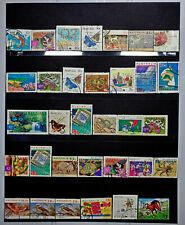 AUSTRALIAN HIGH VALUE STAMP PACK USED MIX OF AUSSIE BUILK PAGE WORTH OFF PAPER
