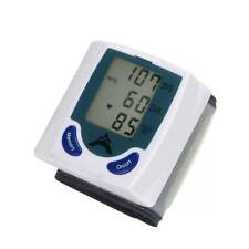 Automatic Wrist Watch Blood Pressure Monitor LCD Screen Home Kit