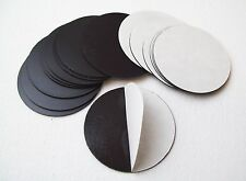 """Round 1-7/8"""" Magnets with Peel and Stick Adhesive Magnets Only"""