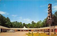 Williamsburg Virginia 1950s Postcard Colonial Motel