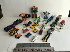 Transformers G1 Vintage figure lot + accessories Hound Bumblebee Must see!