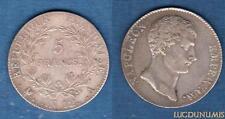 Ier Empire, 1804 – 1814 5 Francs Napoléon, Empereur AN 12 A Paris TTB -