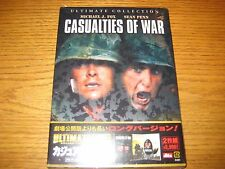Casualties Of War Ultimate Edition 2-Disc DVD Region 2 Asia New & Sealed!