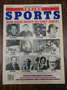 Inside Sports Magazine August 31, 1980 WILLIE MCCOVEY POSTER How Much 💰 Make?