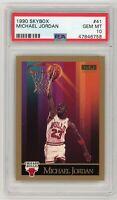 Michael Jordan Chicago Bulls 1990 Skybox Basketball Card #41 PSA 10 GEM MINT