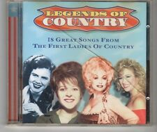 (HH442) Legends of Country, 18 tracks various artists - 1997 CD