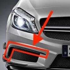 Par Nuevo OEM Mercedes-Benz Clase A AMG A45 Delantero Alerón Solapas patrañas W176 Aero