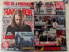 METAL HAMMER + CD February 2015 LAMB Of GOD + Posters SLIPKNOT Metallica SLEEPS