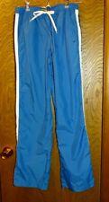 NIKE Boy's Bright Blue Athletic Elastic Waist Slick Drawstring Pants Size XL