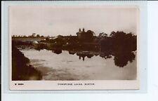 Real photo postcard of the Cowbridge locks in Boston Lincolnshire in gc
