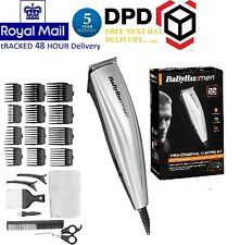 BaByliss 7432U Mens 22 Piece Mains Operated Hair Clipper Kit Brand New