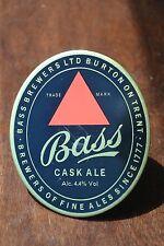 BASS CASK Ale Brass beer tap handle top badge Brewers LTD Burton on Trent