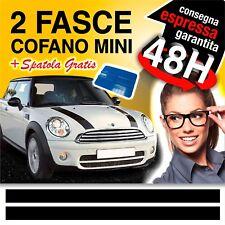 FASCE STRISCE ADESIVI COFANO MINI COOPER BONNET STICKER + SPATOLA