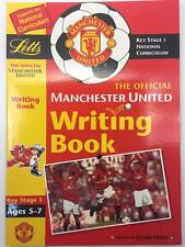 Manchester United Key Stage1 FC Writing Workbook Ages 5-7 National Curriculum