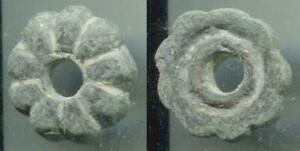 (18680)AE Button from Central Asia, 7-8 Ct AD